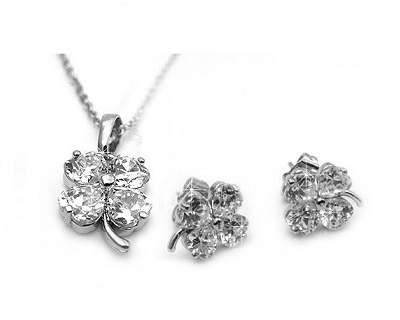 Crystal Clover Duo Set