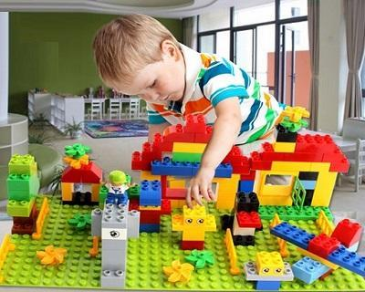 Educational Building Assembled Blocks