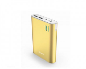 Cheero Power Plus 2 Power Bank 10400mAh Gold