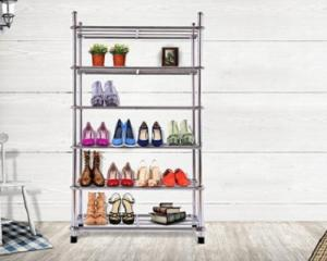 6-Tier Stainless Steel Storage Rack