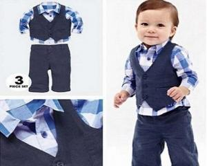 3-In-1 Stylish Cloth Set for Boys
