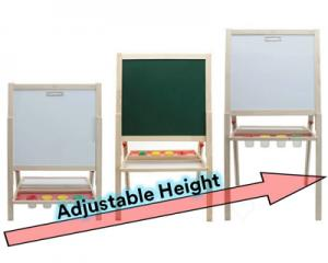 3-in-1 Adjustable Height Easel